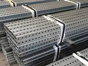 Perforated Square Tube for Making Telescoping Tube,  Sign Post